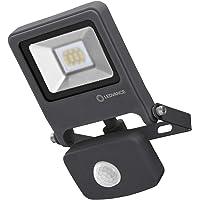 LEDVANCE LED Fluter, Leuchte für Außenanwendungen, integrierter Bewegungssensor, Warmweiß, 125,0 mm x 101,0 mm x 29,0 mm…
