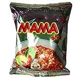 Mama - Asia Nudeln Shrimp Tom Yum Geschmack - 30er Pack (30 x 60g) - 1 Karton Thai Fertiggericht