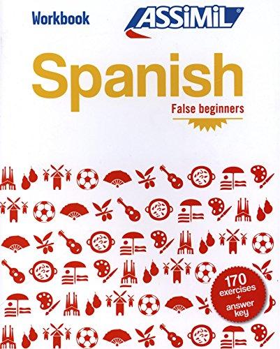 Spanish. Workbook. False beginners (Quaderni) por Belén Ausejo Aldazàbal