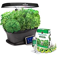 Miracle-Gro AeroGarden Bounty with Gourmet Herb Seed Pod Kit (Black)