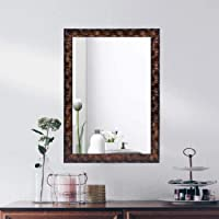 AG Crafts™ Decorative Wall Mirror/Makeup Mirror/Looking Glass (Brown)