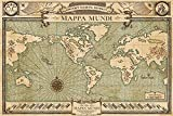 empireposter 747532 Fantastic Beasts - Phantastische Tierwesen - Mappa Mundi Map Karte - Film Kino Poster Druck, Papier, mehrfarbig, 91,5 x 61 x 0,14 cm