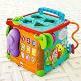#5: Fisher Price Busy Box Man Use, Multi Color