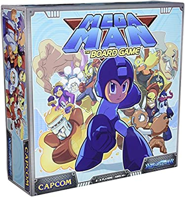 Mega Man: The Board Game Licensed, Boxed Board Game
