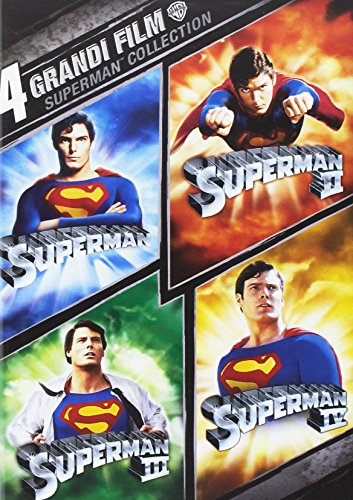 4 grandi film Superman collection