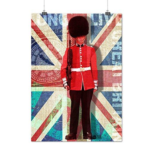 english-guard-flag-england-uk-matte-glossy-poster-a3-42cm-x-30cm-wellcoda
