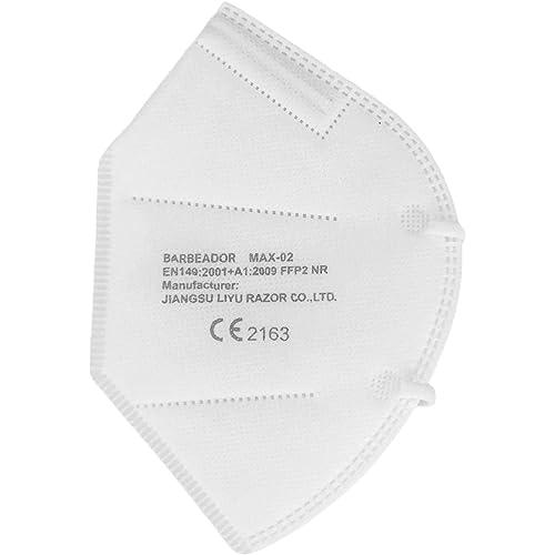 SALOPHARMA - 5X Mascherina KN95 / FFP2 - CERTIFICATA CE2163 - 5 Pezzi FFP2 + 1 Mascherina FFP3 Omaggio - SPEDITO 24 Ore