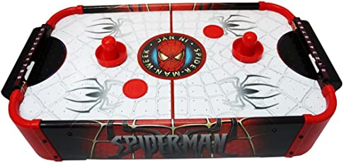 Latest, Quick & Easy Indoor Spiderman Air Hockey Game for kids, perfect fun learning game
