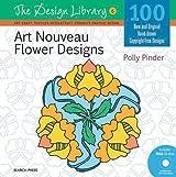 Art Nouveau Flower Designs (Design Library)