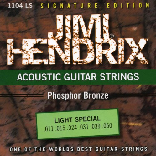 JIMI HENDRIX STRINGS 1104 LS LIGHT SPECIAL PHOSPHOR BRONZE 011-050