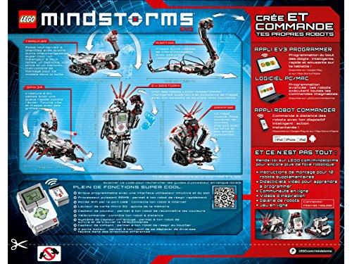 61VhKdFIrzL - LEGO Mindstorms - EV3, juguete electrónico (31313)