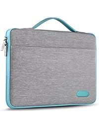 "HSEOK 13-13,5 Pollici Borsa Portatile Custodia Protettiva Sottile Impermeabile Ventiquattrore per 13.3"" MacBook Air PRO, XPS 13, Surface Book 13,5"" e 13""-13,5"" Laptops Notebook, Grigio"