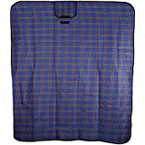 Zorbes 51 x 59 inches Acrylic Outdoor Picnic Blanket Mat Foldable Moistureproof Pad for Camping