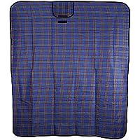 Shuzhen,51 x 59 Pulgadas de acrílico al Aire Libre Manta Manta de Picnic Plegable a Prueba de Humedad Almohadilla(Color:Azul)
