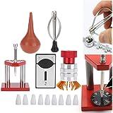 Kit di riparazione per orologi, 5 pezzi, soffiatore ad aria per orologio in gomma, dispositivo di apertura della cassa, strum