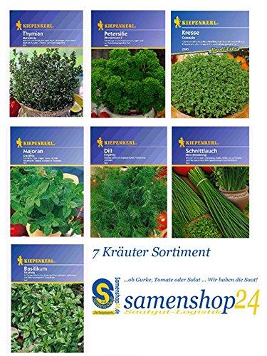 """Image of Saat-Sortiment """"Kräuter"""" - 7 Sorten"""