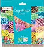Avenue Mandarine Geometric Origami Paper - Multi-Colour