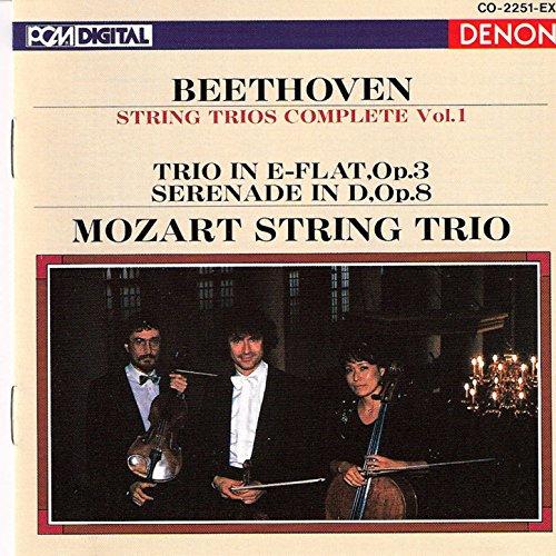 Ludwig Van Beethoven: String Trios