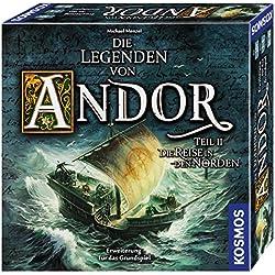 Kosmos - Die Legenden von Andor - Teil II Die Reise in den Norden - Erweiterung Die Legenden von Andor