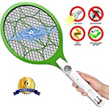 Citra Fly Swatter Mosquito Bat With LED Torch