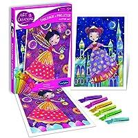 Sentosphere - Set de imágenes para decorar con purpurina, tema de Princesa (A1505046)