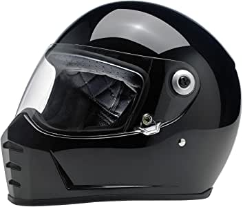 Casco lane splitter helmet- ece approved nero lucido 956191