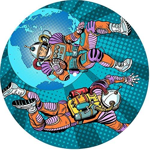 - Slipmat - panno feltro per giradischi vinile'Space Lovers' TB71