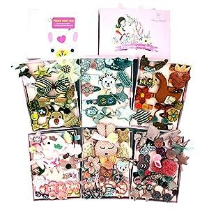 @Y.T 24 stück Set Kinder Haarspange haarzusätze geschenkbox mädchen Kopfschmuck Prinzessin Baby Baby Geschenk