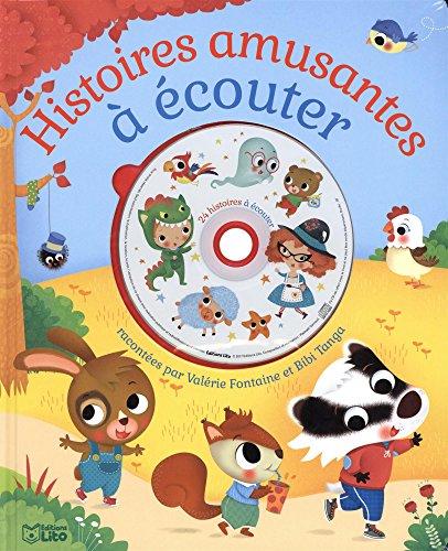 Ecoute et rve: Histoires amusantes  couter avec un CD - Ds 3 ans