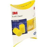 3M EAR Classic, 50 Paar paarweise verpackt, gelb, SNR = 28 dB, Gehörschutz, Ohrstöpsel, wadle-shop