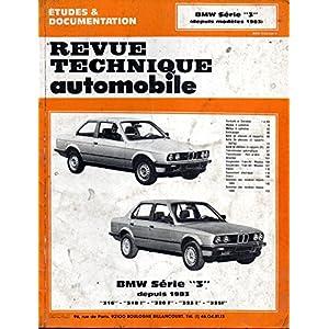 Revue Technique 448.3 Bmw Serie 3 (1983/1990)