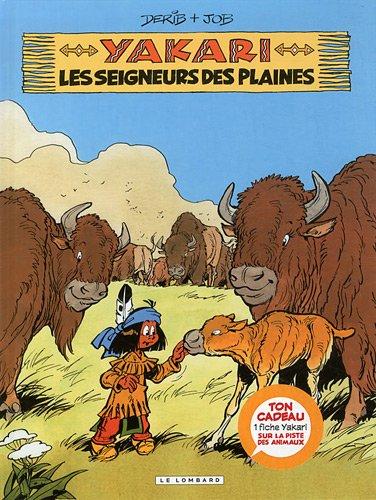 Yakari, Tome 13 : Les seigneurs des plaines + fiche animal