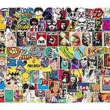 Slopow Adesivi Stickers 200Pcs Decalcomanie Impermeabile per Moto, Computer portatile, Bambini, Automobili, Motociclette, Bicicletta, Skateboard Bagagli