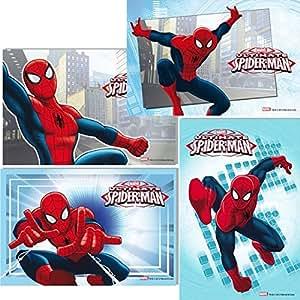 Rectangle en azyme Ultimate Spiderman pour gâteau