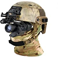HUIGE Chasse Caméra De Vision Nocturne, Vision Nocturne Infrarouge Télescope Monoculaire avec 850Nm Illuminateur, 200M…