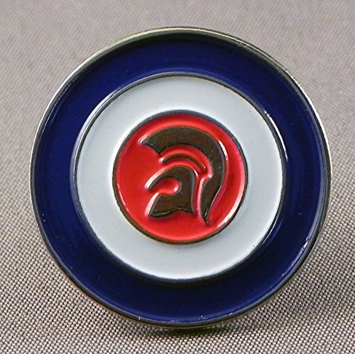 Metal Enamel Pin Badge Brooch MOD Scooter Trojan Skinhead by Mainly Metal (Fisch Rebel)
