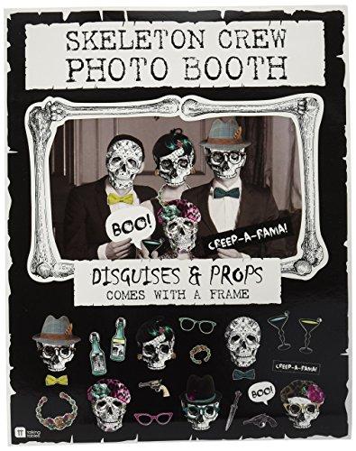 ücke Photo Booth mit Schädel, perfekt für Halloween (Office-halloween-deko-ideen)
