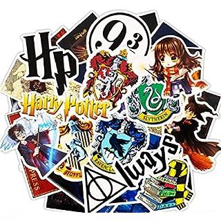 ⭐️ Top Stickers ! ⭐️ Lot de 30 Stickers Harry Potter - Autocollant Top Qualité Non Vulgaires – Fun, Bomb - Customisation ordinateur portable, bagages, vélo, skateboard, trotinettes (#30-HARRY)