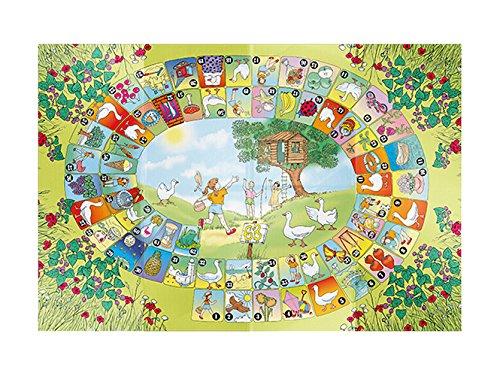 House Of Kids 71039-e2Tischdecke-Spiele Gänsespiel Klassische Polyester Mehrfarbig 140x 0,2x 100cm