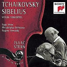 Tchaikovsky : Concerto pour violon en ré majeur op. 35 / Sibelius : Concerto pour violon en ré mineur op. 47 [Import USA]