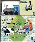 Henriette Bimmelbahn Jubiläums-Set (Krüss)