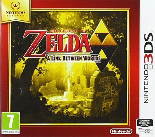 The Legend of Zelda : A Link Between Worlds - Nintendo Selects - Nintendo 3DS - [Edizione: Francia]