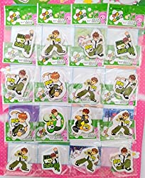 Aarvi Ben10 Pencil Eraser Birthday Return Gift for Kids (Pack of 32 Pcs)