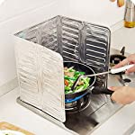 Kicode Removable Scald Cooking Frying Oil Gas Stove Oil-Proof Splash Guard Board Kitchenware Tool
