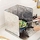 Kicode Escaldado removible Cocinar Freír Estufa de gas de petróleo Resistente al aceite Tablero del protector Herramienta de utensilios de cocina