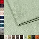 Webstoff Strukturstoff Portland - Möbelstoff Polsterstoff Uni Meterware - mint 31