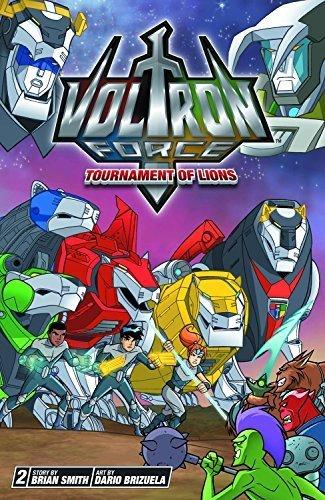 Voltron Force, Vol. 2: Tournament of Lions by Brian Smith (2012-06-05) (Voltron Lion Force)