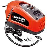 BLACK+DECKER ASI300-QS Compresseur filaire - 11 bar / 160PSI - Pompe à air,Multicolore (Rouge / Noir)