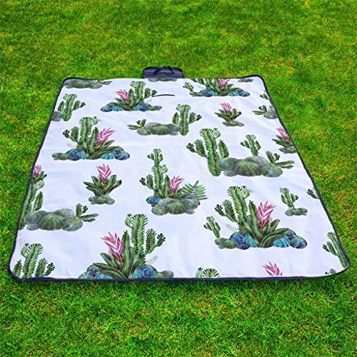 Higlles Wasserdicht Im Freien Picknickdecke Campingteppich Falten Reisen Strandmatte Teppich Wohnzimmer