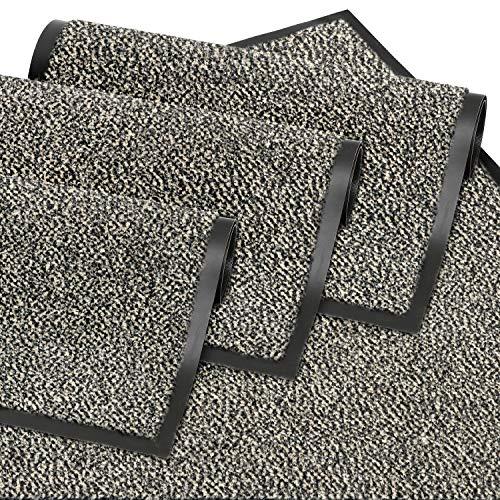 GadHome Fußmatte, Beige 60x90 cm | Eingangstürmatte, wasserdicht, waschbar, strapazierfähiger Schmutzfänger | Rutschfester Schmutzfängerfußmatte für Haustür, Flur, Eingang, Küche, Schlafzimmer